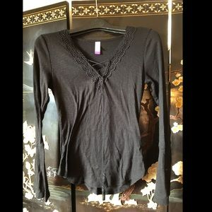 large women's long sleeve top